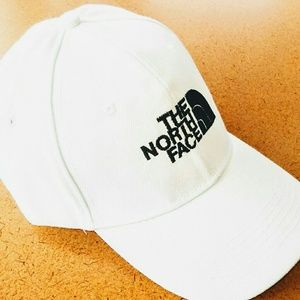 The North Face - Adjustable Men's White Hat - NEW